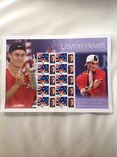 2001 - Australia - Lleyton Hewitt Stamp Sheetlet
