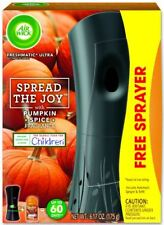 Air Wick Spread the Joy Pumpkin Spice Automatic Spray REFILL + FREE GADGET