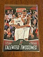 2014-15 Panini Threads Basketball TALENTED TWOSOMES - Damian Lillard - BLAZERS