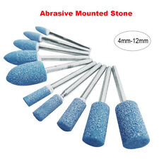 Blau 100Pcs 3MM Schleifpunkte Min Schleifstein Steinschaft zum Bohren