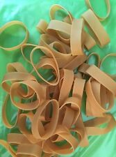 50 Rubber Bands - Size #82 - 2 1/2 x 1/2 - Strong, Large, Wide