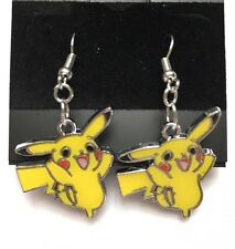 Pokémon Nintendo Pikachu Earrings Fashion Jewelry (Style B- Standing Pikachu)