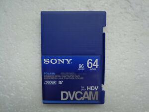 DVCAM SONY PDV-64N Didital Video Cassette - New