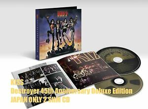 5ET KISS Destroyer 45th Anniversary Deluxe Edition JAPAN ONLY 2 SHM CD