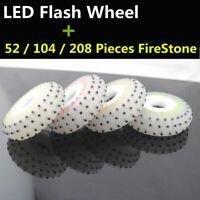 Flint Fire Stone LED Flash Inline Skate Wheel Firestone Skating wheel New Design