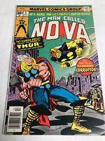 The Man Called Nova #4 (9.0-9.2) 1ST APPEARANCE & ORIGIN OF CORRUPTOR-Newsstand