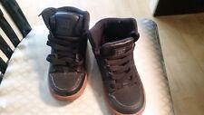 Kids DC Rebound hi top skate board shoes