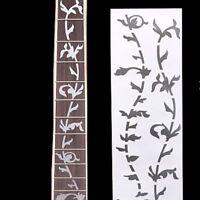 Beautiful Bass Decoration Silver Fret Board Tree Ultra Thin Guitar Sticker