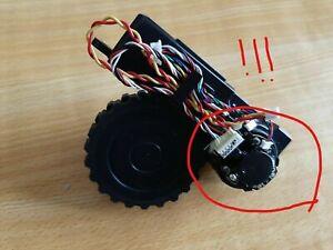 Rueda derecha con Motor para Aspirador CONGA 3090 (placa negra)Repuesto original