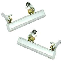 1978-1988 Chrome Outer Door Handles Pair Monte Carlo El Camino Buick Regal New