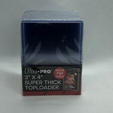 25 Ultra Pro 3x4 regular toploaders Nuevo Rígido Transparente Trading Card Mangas Deportivas