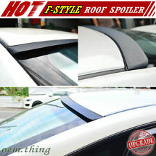 New listing 2011-2014 Fit FOR Chevrolet Volt 1st Hatchback 5DR Roof Spoiler F Style Unpaint