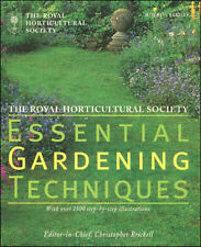 Royal Horticultural Society Essential Gardening Techniques by The Royal Horticul