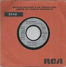AL STEWART Rumours of war FRENCH PROMO SINGLE RCA 1984