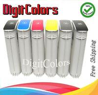 Set of 6 130ml Cartridges for HP 72 ink cartridge Designjet T620 1100 1120 1300