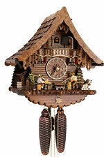 cuckoo clock german black forest 8 day original wood chalet style mechanical new