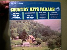 COUNTRY HITS PARADE MIXED COUNTRY ARTIST 1966 RECORD RCA VICTOR LSP-3452
