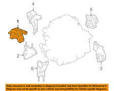 pontiac gm oem 06-09 g6-engine motor mount torque strut 25852868 (fits: pontiac  g6)