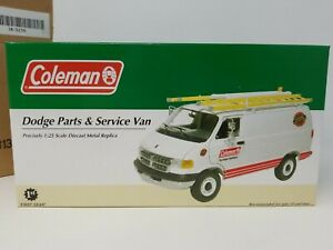 First Gear Coleman Dodge Parts & Service Van1:25 Diecast 2004 w/ shipping box