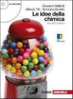 Le idee della chimica + DVD-ROM volume unico ZANICHELLI cod:9788808136992