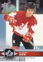 17/18 UD TEAM CANADA..BOBBY ORR..CARD # 93..FREE COMBINED SHIPPING
