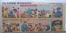 (16) Lone Ranger Sunday Pages by Fran Striker and Charles Flanders from 1962