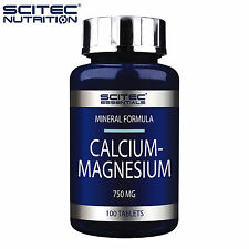 Calcium Magnesium 100 Tablets Recovery Mineral Anabolic Supplement Strong Bones
