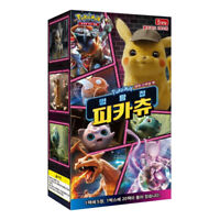 "Pokemon Card ""Detective Pikachu"" SMP2 Movie Special Booster Box 20 Packs Korean"