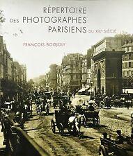 Répertoire des photographes parisiens du XIXe siècle de François Boisjoly