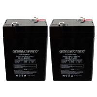 Carpenter Watchman 713527 6V 4.5Ah SLA Replacement Emergency Lighting Battery by Neptune