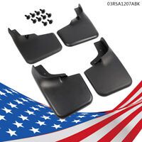 Fit  2004-2014 Ford F-150 4   Molded Splash Guards Mud Flaps Front & Rear