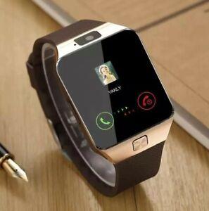 Bluetooth Smart Watch DZ09 Phone With Camera