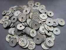 Mixture 50pc Chinese Bronze Coin Old Dynasty Antique Currency Cash 35-44mm