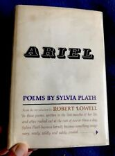 ARIEL-Poetry By Sylvia Plath HC/DJ HARDCOVER book Uncommon 2nd Printing 1966