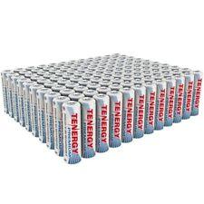 120PCS Tenergy Premium AA 2500mAh High Capacity NiMH Rechargeable Batteries AA