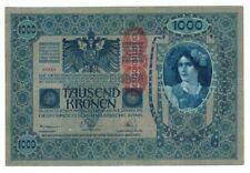 AUSTRIA-HUNGARY BANKNOTE 1000 KRONEN 1902