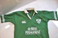 Canterbury of New Zealand rugby Irish green shirt Mens small