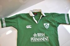Canterbury of New Zealand rugby Irish green shirt Mens small