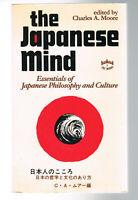 THE JAPANESE MIND - CHARLES A. MOORE - 1978 - POCHE EN ANGLAIS - BON ÉTAT