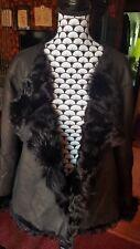 Veste paletot en peau lainée mouton - Kookaï, T38/40