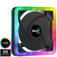 Aerocool Edge 14 140mm ARGB LED PC Case Fan 1000rpm Hydraulic Bearing 6-pin Fan