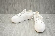 **Steve Madden Emmi Casual Lace Up Shoe - Women's Size 6.5M - White