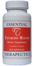 Essential Therapeutics Thyroid Blend Glandular with 900mcg Iodine Kelp 90 Caps