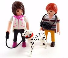 YOUNG MODERN COUPLE with DALMATION DOG House Lady & Gentleman Figures Playmobil