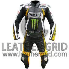Yamaha Monster Energy One Piece Motorbike Racing Leather Suit