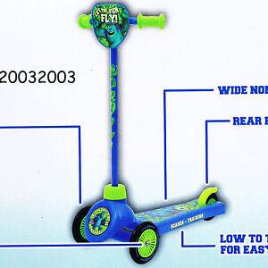 Disney Pixar Monsters University - Scarer in Training Tri Scooter; 3 wheels BNIB
