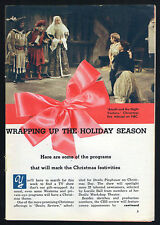 1959 Tv Guide Article ~ Christmas Special/Amahll & The Night Visitors/3 Pages