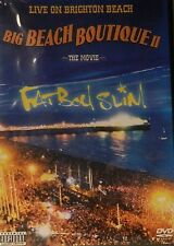 FATBOY SLIM BIG BEACH BOUTIQUE II The MOVIE Live on Brighton Beach Tons o Extras
