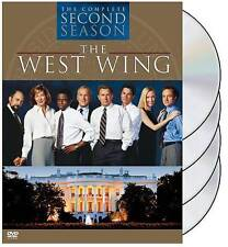WEST WING SEASON 2 (DVD, 2004, 4-Disc Set) NEW Ships in 24 hours!