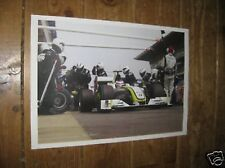 Jenson Button F1 Formula One Honda POSTER Pit Stop